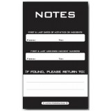 NOTEPAD - Small: 1 PAD Model QC81